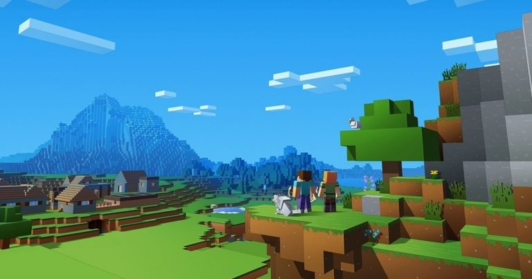 Minecraft возглавила чарт Великобритании