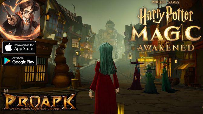 Новая игра по вселенной «Гарри Поттера» вышла в Китае