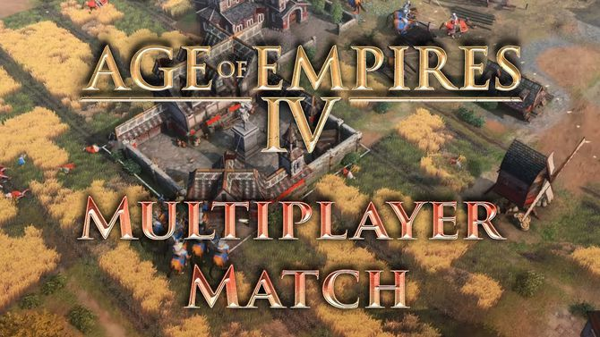 Русь против Священной Римской империи — полный матч в Age of Empires IV