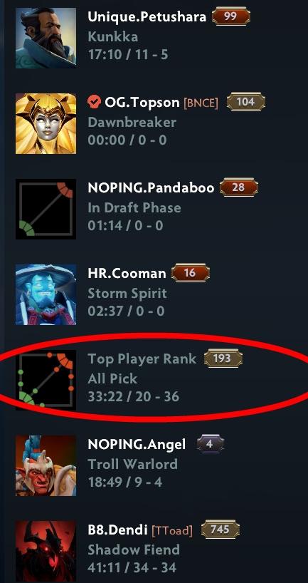 Valve улучшила вкладку «Прямой эфир» в Dota 2