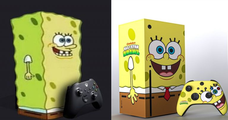 Microsoft выпустит Xbox в виде Губки Боба